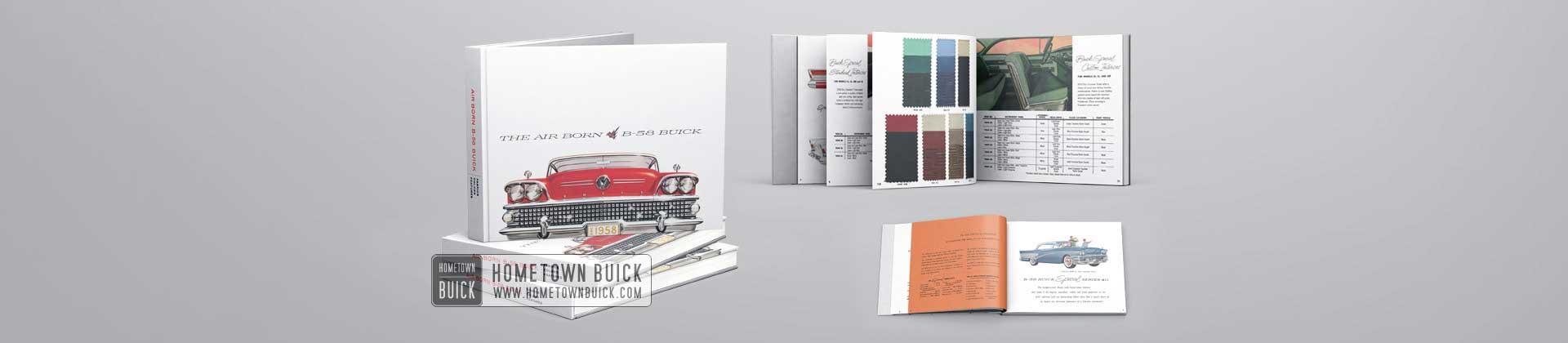 1958 Buick Showroom Album