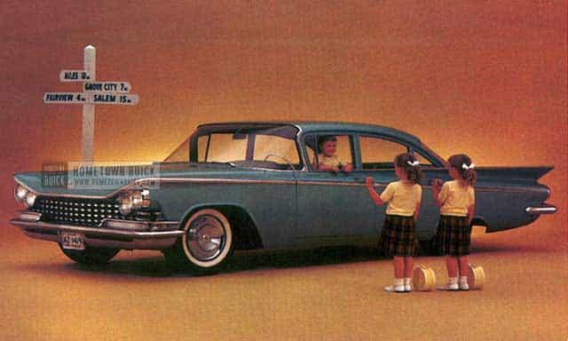 Buick Le Sabre Postcard on Buick Lesabre Wagon