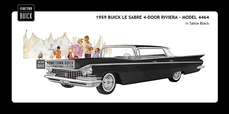 1959 Buick Coloring Tool