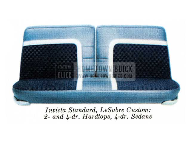 1959 Buick Interior