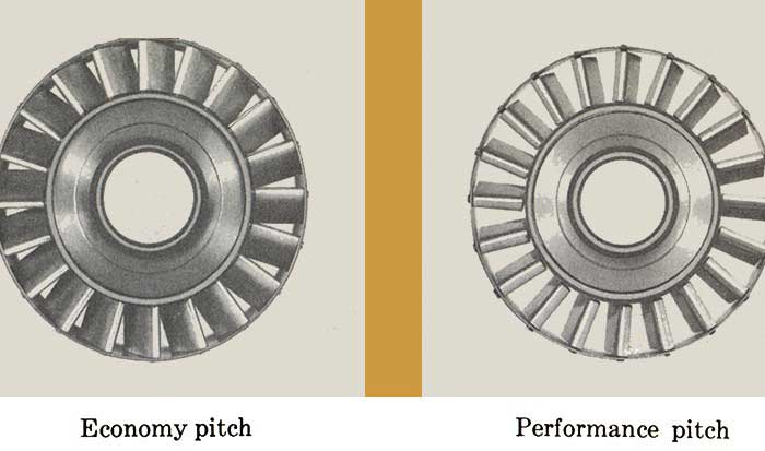 1959 Buick Twin Turbine Transmission Pitches