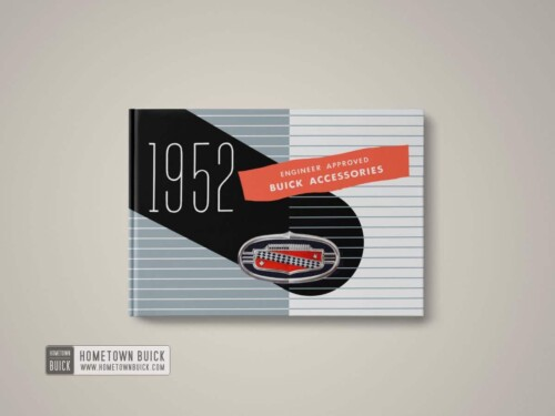 1952 Buick Accessories Book 01