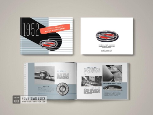 1952 Buick Accessories Book 08