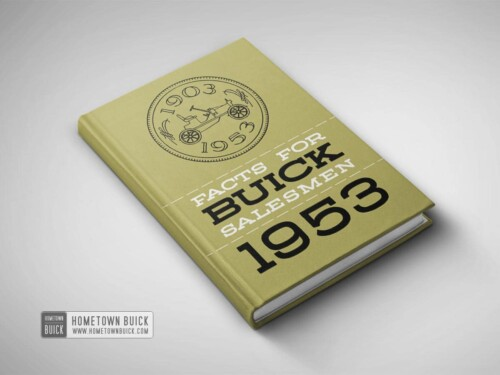 1953 Buick Facts Book 01