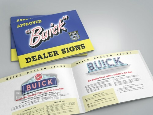 1950s Buick Dealer Signs Brochure 02