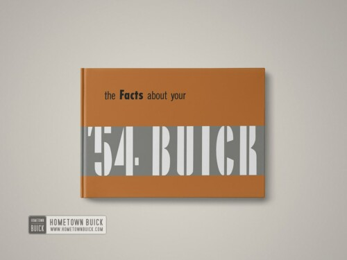 1954 Buick Facts Book 01