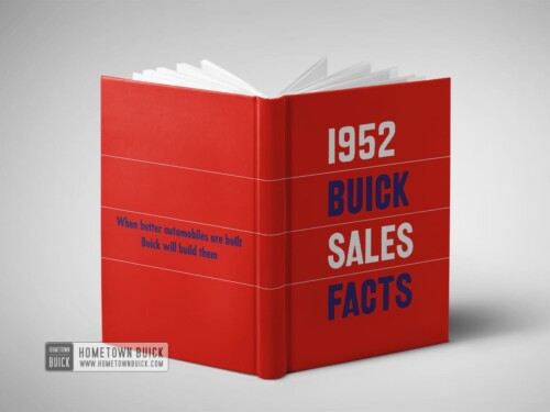 1952 Buick Facts Book 13