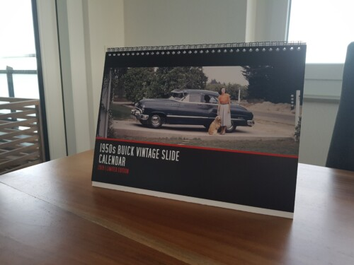 1950s Buick Calendar for 2019