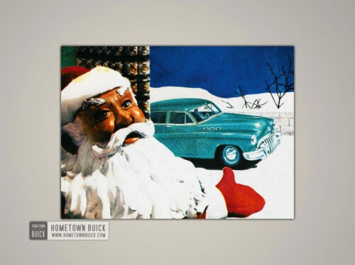 1950 Buick Christmas Card