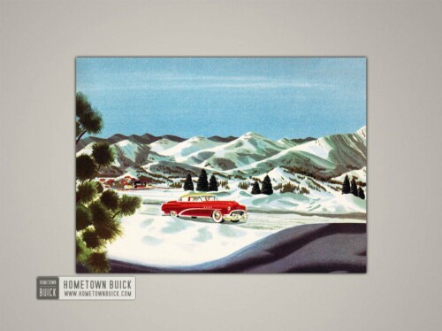 1952 Buick Christmas Card